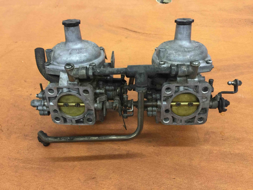 Jaguar Xke Zenith Stromberg 175 Cd 2 Carburetors For