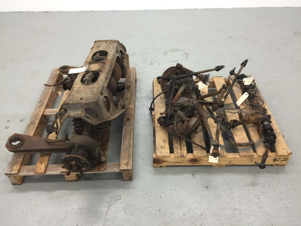 jaguar xke series  front  rear suspension  disc racing wheels rare  sale seattle wa