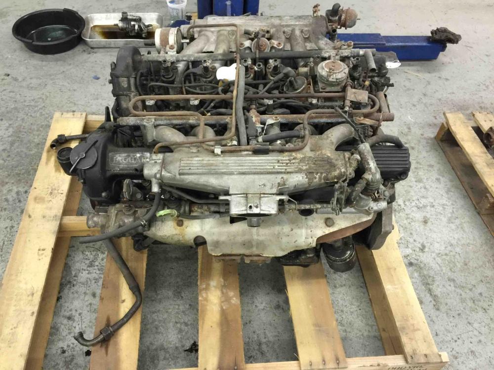 Jaguar XJ12 V12 Motor Cheap V12 Engine 8S12913LA - For Sale