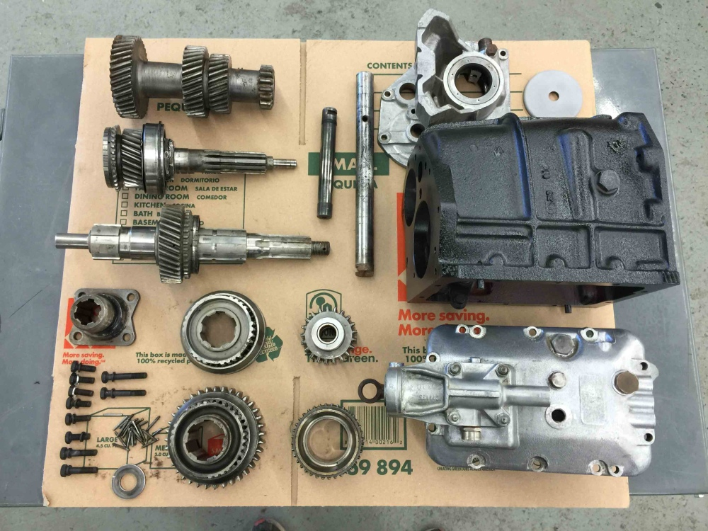 Jaguar XKE E Type Moss Gearbox Transmission 4 Speed S1 EB JS