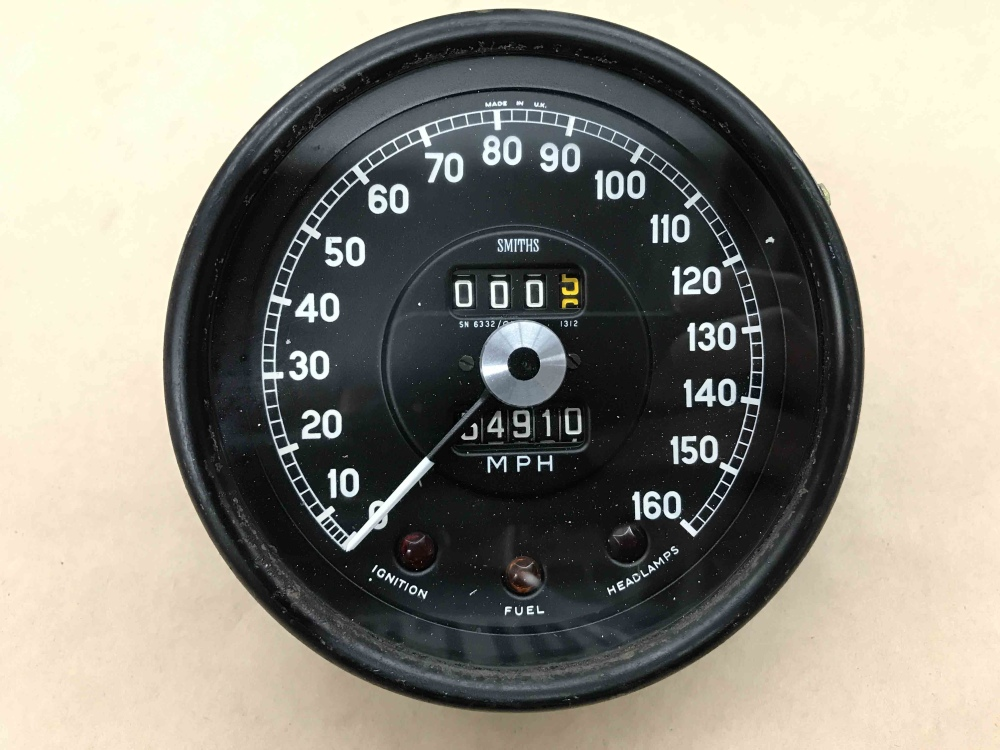 Jaguar Xke E Type Smiths Speedometer Speedo Mph Gauge Sn 6332 01 Instrument For Sale Seattle Wa