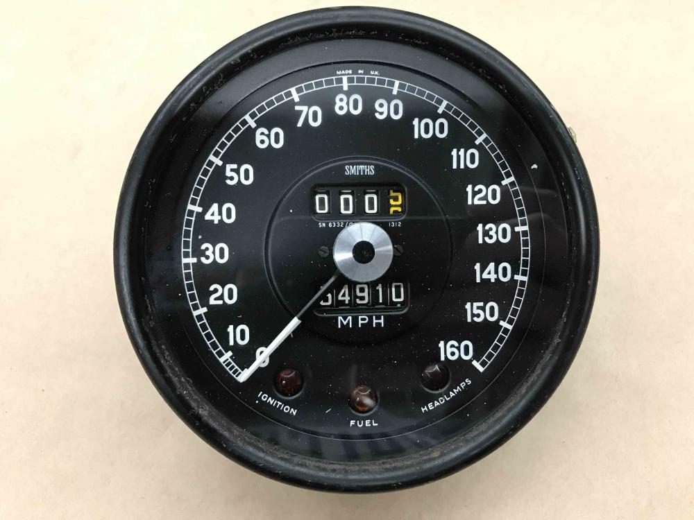 What Is A Jaguar >> Jaguar XKE E Type SMITHS Speedometer Speedo MPH Gauge SN 6332 01 Instrument - For Sale, Seattle WA