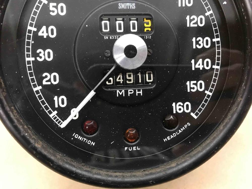 Jaguar XKE E Type SMITHS Speedometer Speedo MPH Gauge SN ...